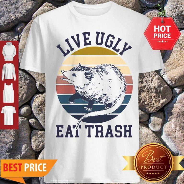 Good Opossum Live Ugly Eat Trash Vintage Shirt