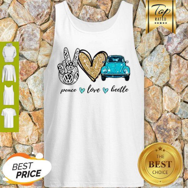 Good Peace Love Beetle Tank Top