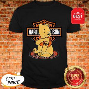 Good Pooh Tattoo Motor Harley Davidson Cycles Shirt