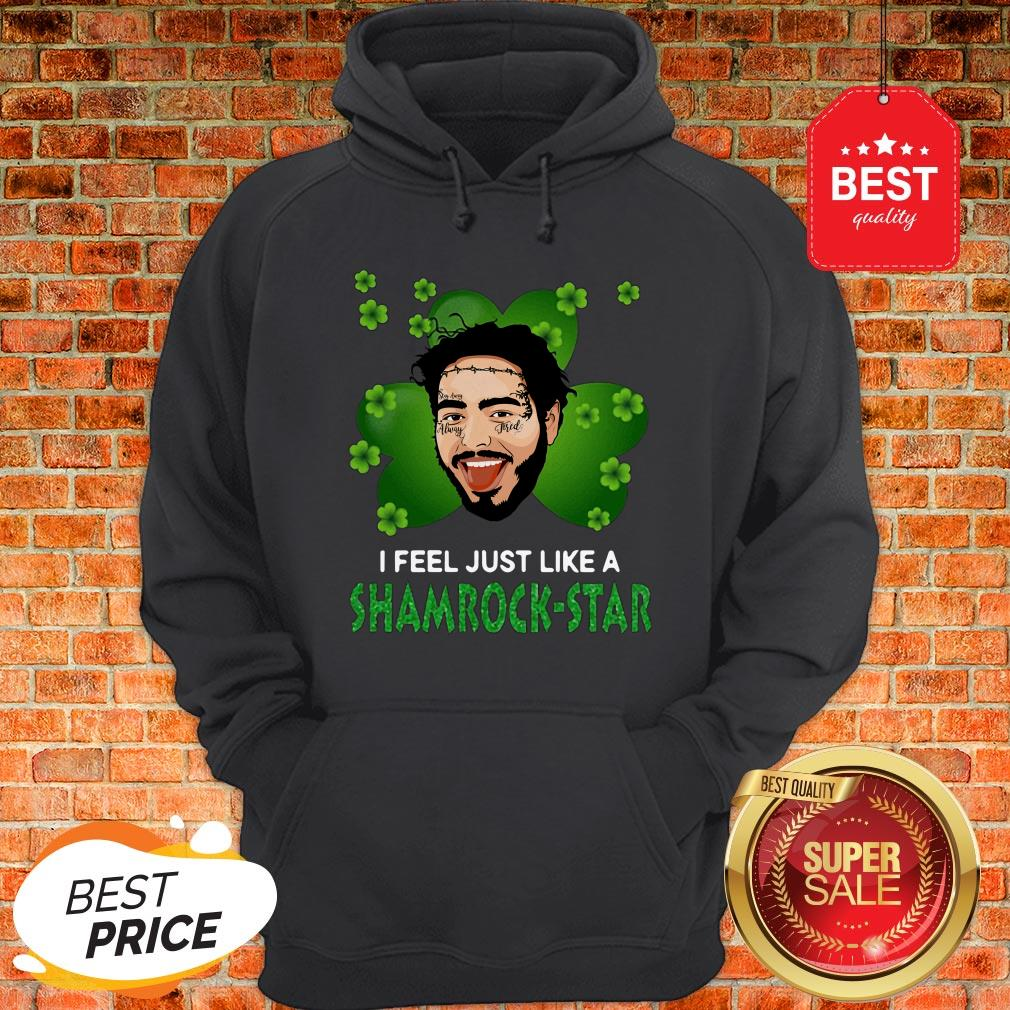 Long Sleeve Awesome Post Malone Art Signature T-Shirt Swearshirt Pullover Hoodie