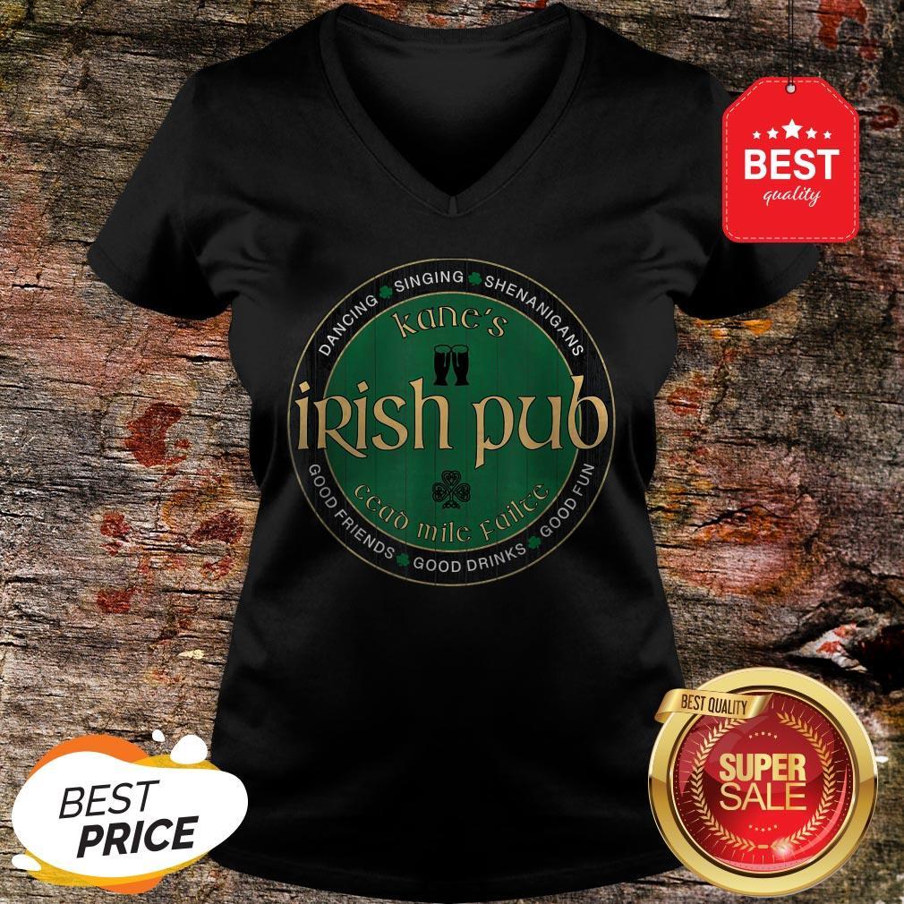 Kane's Irish Pub St. Patrick's Day Party T-V-Neck