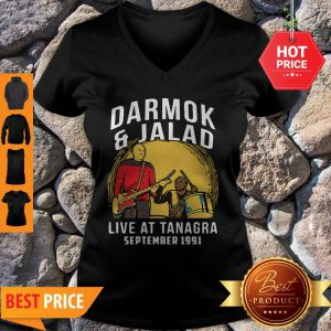 Nice Darmok And Jalad Live At Tanagra September 1991 Star Trek V-Neck