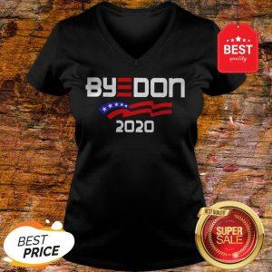 Nice Joe Biden For President 2020 Parody Byedon V-Neck