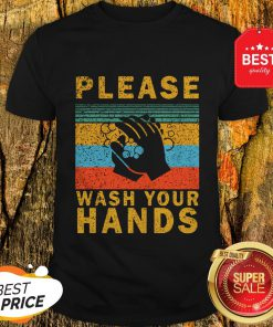 Nice Please Wash Your Hands Vintage Coronavirus Shirt