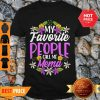 Nice Top My Favorite People Call Me Mema Floral Mothers Day Gifts Shirt