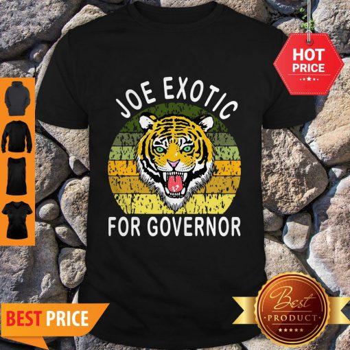 Nice Vintage Joe Exotic For Governor Shirt