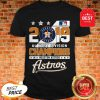 Official 2019 Al West Division Champions Houston Astros Shirt