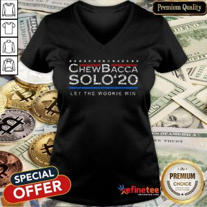 Pretty Chewbacca Solo' 2020 Let The Wookie Win V-Neck