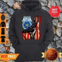 Pretty International Brotherhood Of Teamsters American Flag Hoodie - Design By Refinetee.com