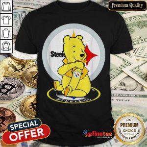Pretty Pooh Tattoos Pittsburgh Steelers Logo Shirt