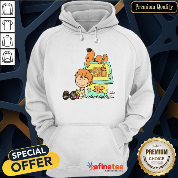 Pretty Shaggy And Scooby Mystery Nuts Snoopy And Charlie Brown Hoodie - Design By Refinetee.com