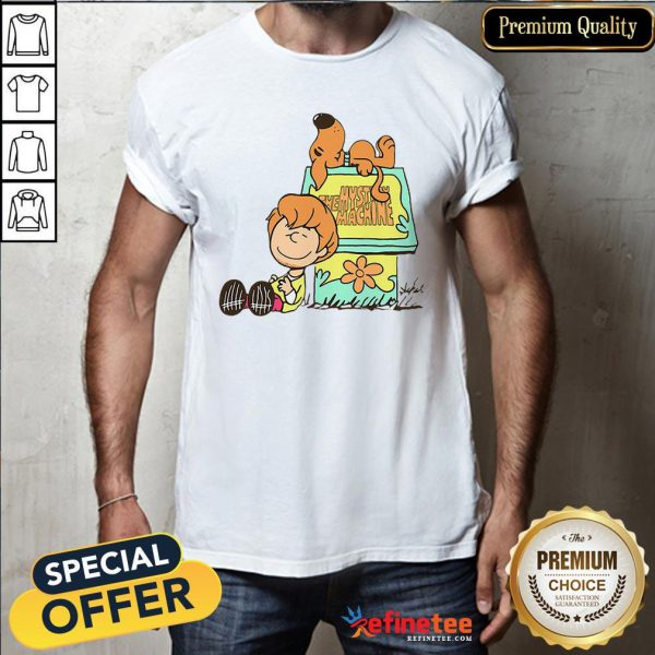 Pretty Shaggy And Scooby Mystery Nuts Snoopy And Charlie Brown Shirt - Design By Refinetee.com
