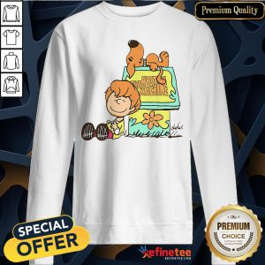 Pretty Shaggy And Scooby Mystery Nuts Snoopy And Charlie Brown Sweatshirt - Design By Refinetee.com