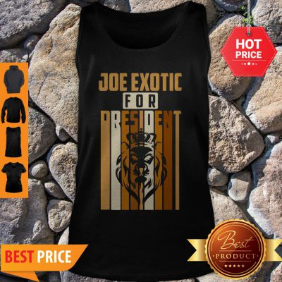 Pretty Vintage Joe Exotic For President 2020 Tank Top - Design By Refinetee.com