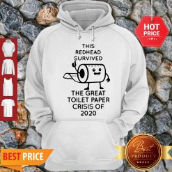 This Redhead Survived The Great Toilet Paper Crisis Of 2020 Covid-19 Hoodie- Design By Refinetee.com