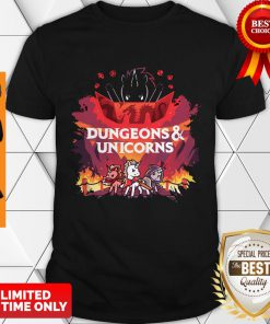 Funny Dungeons And Unicorns Shirt