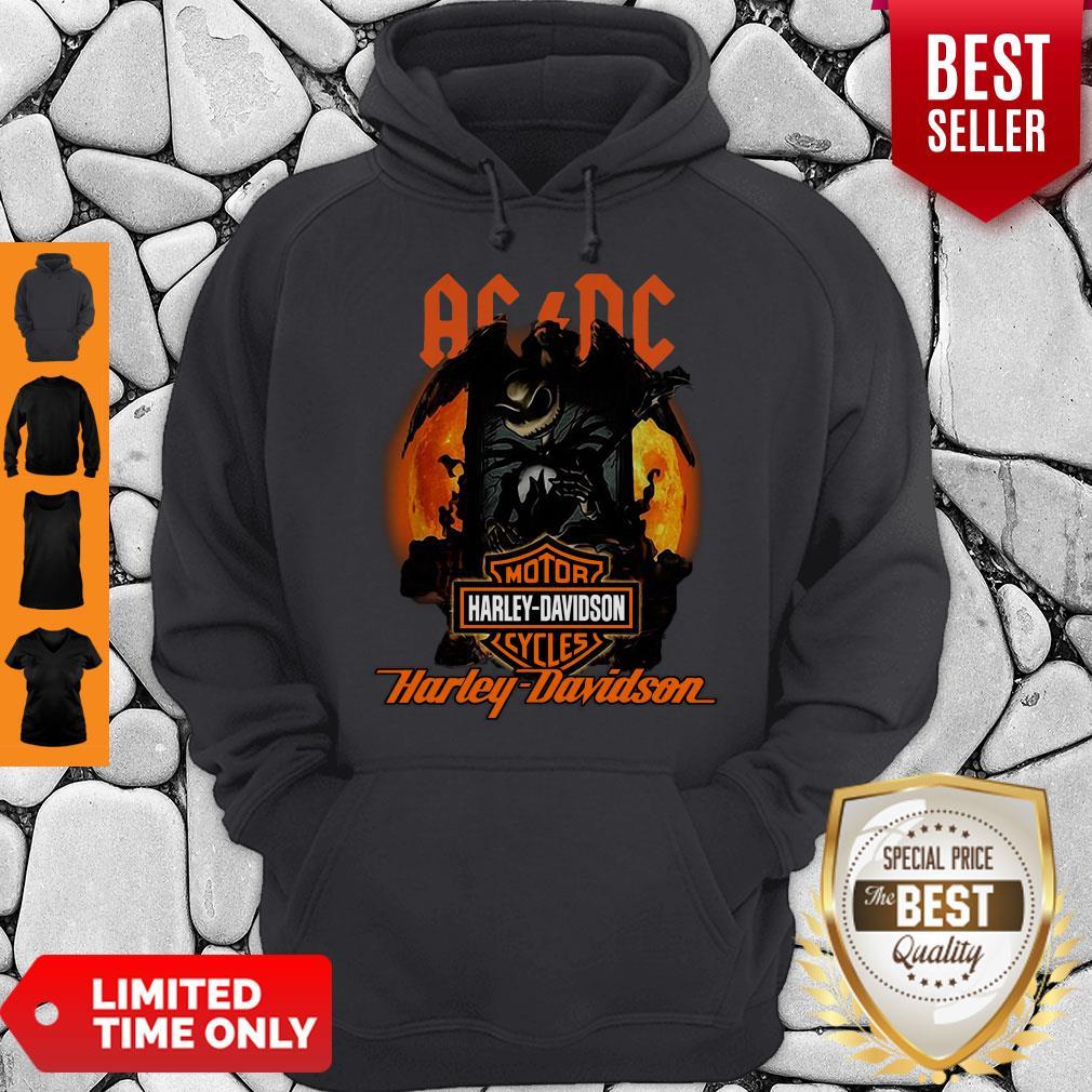 Good ACDC Jack Skellington Motor Harley-Davidson Cycles Hoodie