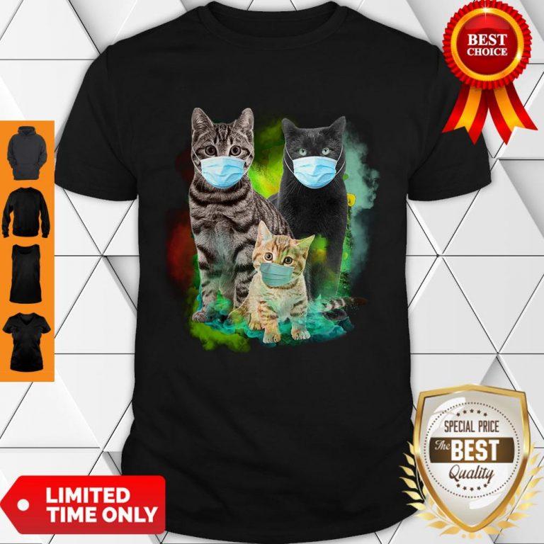 Good Cat Wear Face Mask 2020 T-Shirt