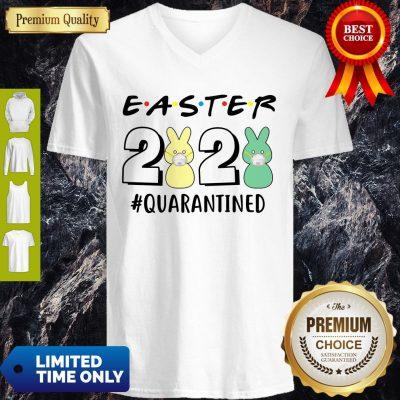 Good Easter 2020 Quarantined Coronavirus V-Neck