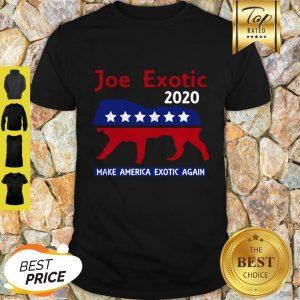 Good Joe Exotic Tiger King Make American Extic Again Shirt