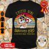 Good Kansas City Chiefs Girl Survived 2020 Coronavirus Pandemic Vintage Shirt