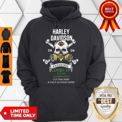 Good Skull Harley-Davidson 2020 Pandemic Covid-19 In Case Of Emergency Hoodie