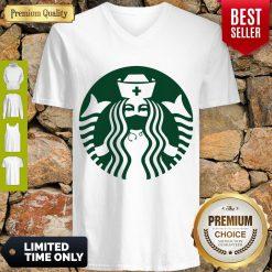 Good Starbuck Coffee Nurse V-Neck