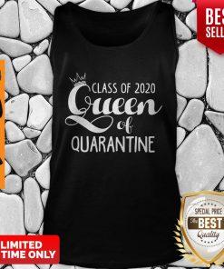 Nice Class Of 2020 Queen Of Quarantine Tank Top