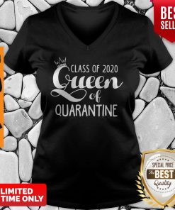 Nice Class Of 2020 Queen Of Quarantine V-Neck