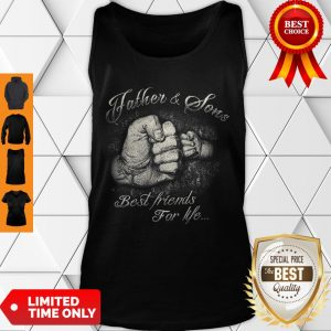 Nice Father & Sons Best Friends For Life Tank Top