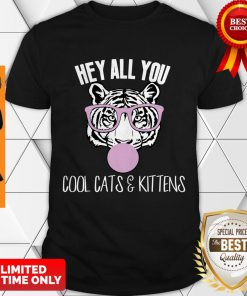 Nice Hey All You Cool Cats And Kittens Shirt