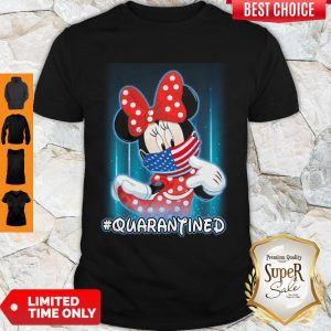 Nice Minnie Mouse Mask American Quarantined Shirt