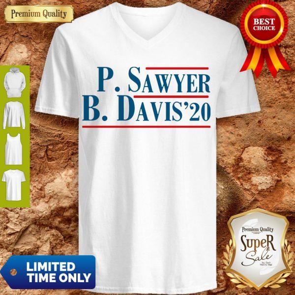 Pro P.Sawyer B.Davis'20 V-neck- Design By Refinetee.com