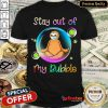 Top Hedgehog Wear Medical Mask Stay Out Of My Bubble Coronavirus Shirt - Design By Refinetee