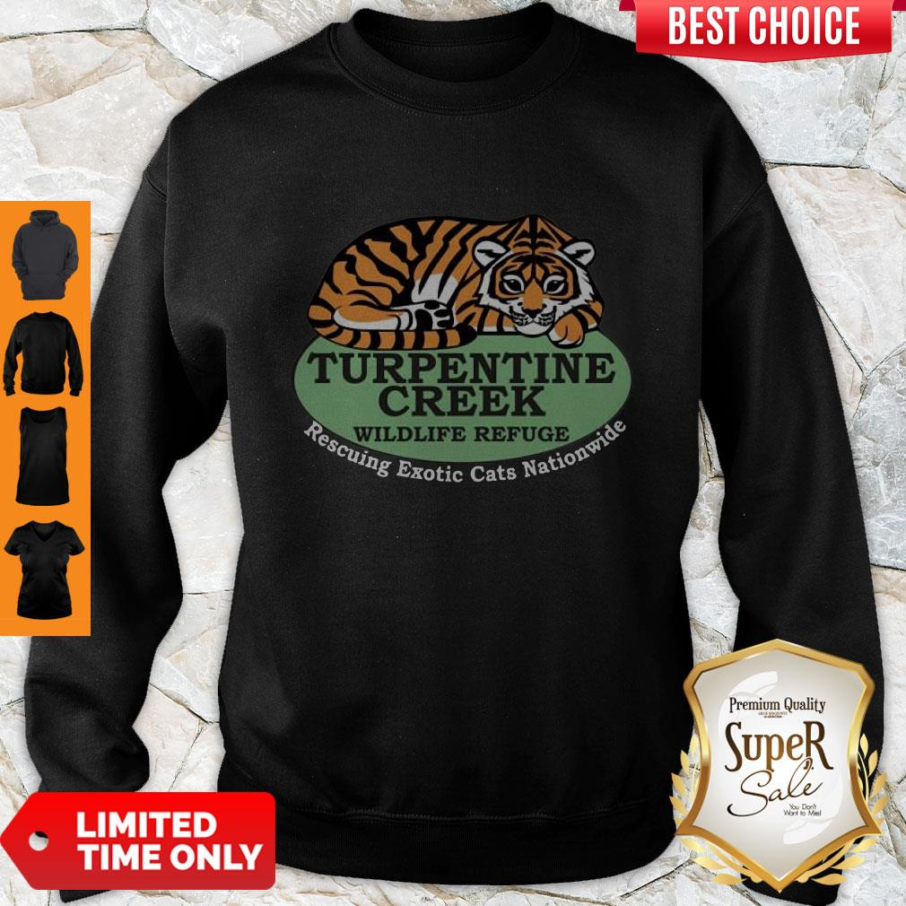 Top Rescuing Exotic Cats Nationwide Sweatshirt - Design By Refinetee.com