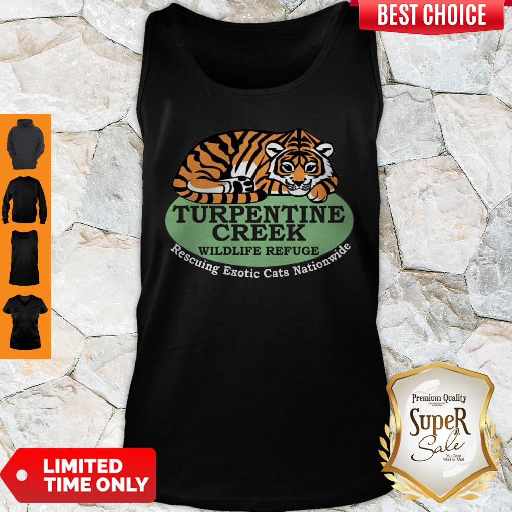 Top Rescuing Exotic Cats Nationwide Tank Top - Design By Refinetee.com