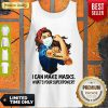 Top Strong Sewer I Can Make Masks What's Your Superpower Coronavirus Tank Top