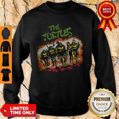 Top The Ninja Turtles Warrior Sweatshirt - Design By Refinetee.com