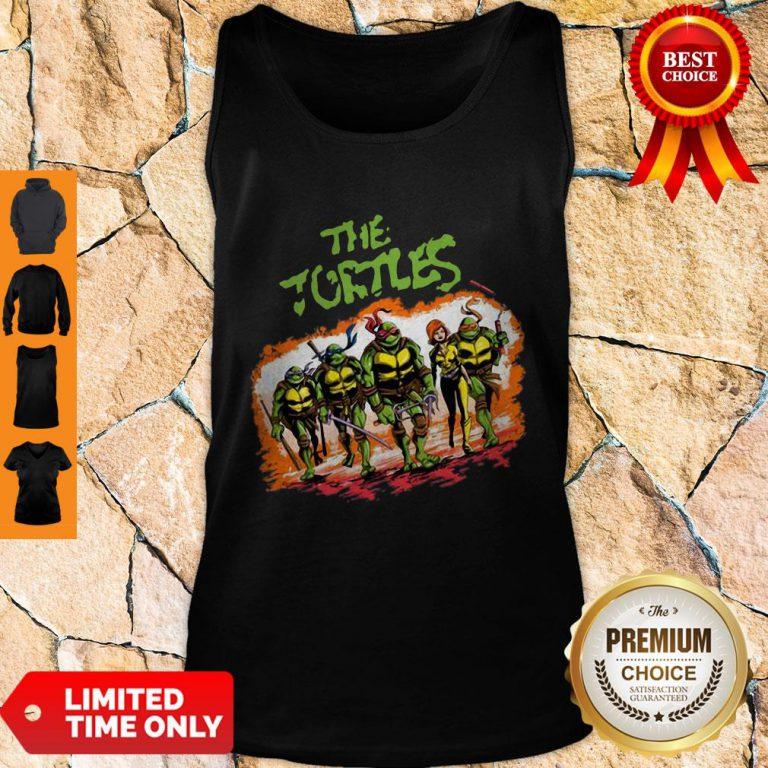 Top The Ninja Turtles Warrior Tank Top - Design By Refinetee.com