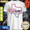 Funny Cute Don't Be A Covid 19 Idiot Stay Home Nurse Strong Shirt