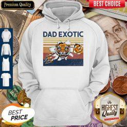 Good Dad Exotic Vintage Hoodie