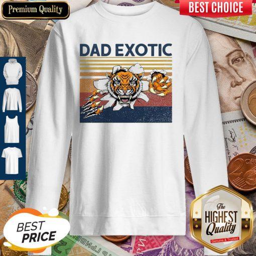 Good Dad Exotic Vintage Sweatshirt