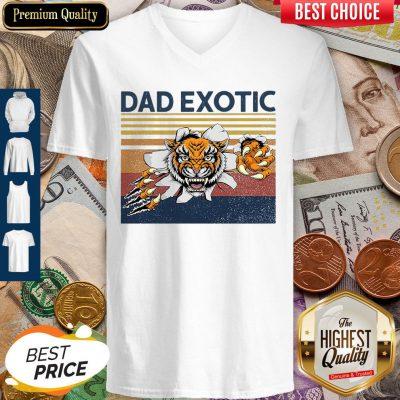 Good Dad Exotic Vintage V-neck
