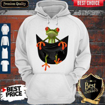 Good Frog In Pocket Hoodie