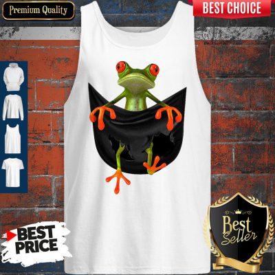 Good Frog In Pocket Tank Top