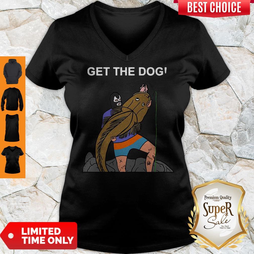 Good Get The Dog V-Neck