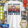 Good Hockey Best Pucking Dad Ever Vintage Shirt