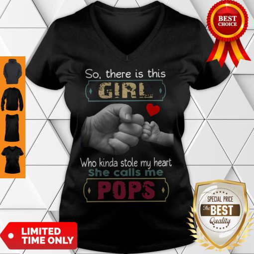 Good So There's This Girl Who Kinda Stole My Heart Classic V-Neck