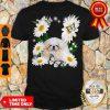 Good White Pekingese Daisy Flower Classic Shirt