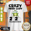 Nice Crazy Frog Man 2020 Toilet Paper Quarantined Shirt